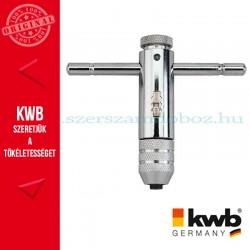 KWB PROFI racsnis menetfúró hajtókar irányváltóval M 3-10 mm