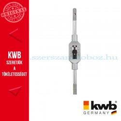 KWB PROFI menetfúró fordító vascink ötvözet test, edzett befogó pofák M 4-12mm