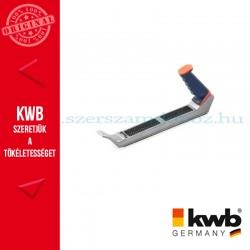 KWB PROFI alu. házas gipszkarton gyalu SK2 acél gyalulappal 40 x 250 mm