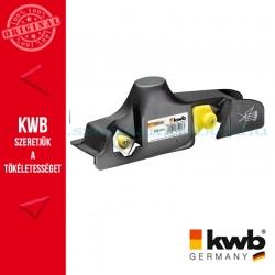 KWB PROFI gipszkarton falc gyalu 9.5-15 mm