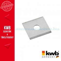 KWB PROFI gipszkarton falc gyalukés 3 db