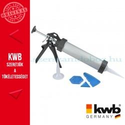 KWB kinyomó pisztoly tartozékokkal - klt. 6 db 230 mm
