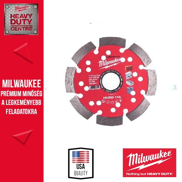 Milwaukee HUDD 115 Gyémánt vágókorong 115mm