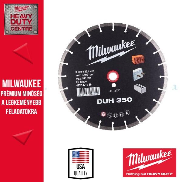 Milwaukee DUH230 Gyémánt vágókorong 230mm
