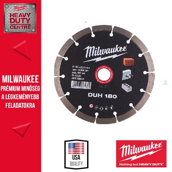 Milwaukee DUH180 Gyémánt vágókorong 180mm