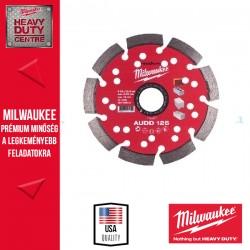 Milwaukee AUDD125 Gyémánt vágókorong 125mm