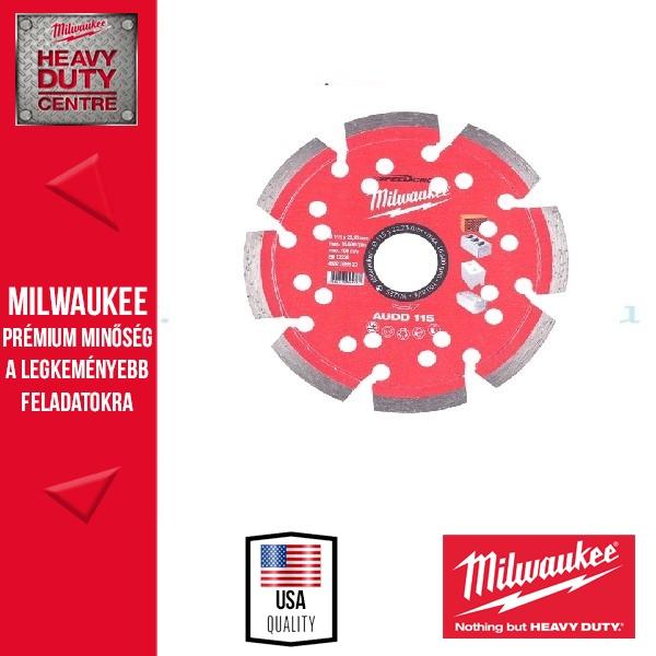 Milwaukee AUDD115 Gyémánt vágókorong 115mm