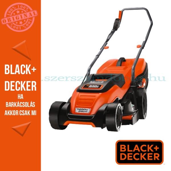 Black & Decker elektromos fűnyíró EMAX34S-QS