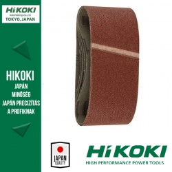 Hikoki (Hitachi) szalagcsiszolópapír - 110 x 620mm / K80 - 5db/csomag