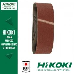 Hikoki (Hitachi) szalagcsiszolópapír - Vegyes készlet 76 x 533mm / K60/80/120 - 6db/csomag