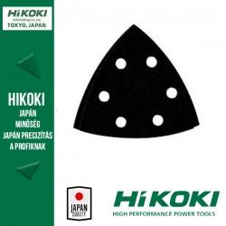 Hikoki (Hitachi) 6lyukú tépőzáras csiszolópapír (deltacsiszolókhoz) - 94mm / K80 - 10db/csomag