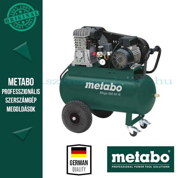 Metabo Mega 350-50 W Nagyteljesítményű kompresszor