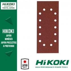 Hikoki (Hitachi) 14lyukú csiptetős csiszolópapír (rezgőcsiszolókhoz) - 115 x 280mm / K40 - 10db/csomag
