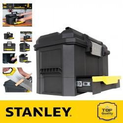 """Stanley 19"""" Fiókos szerszámosláda automatikus csattal"""