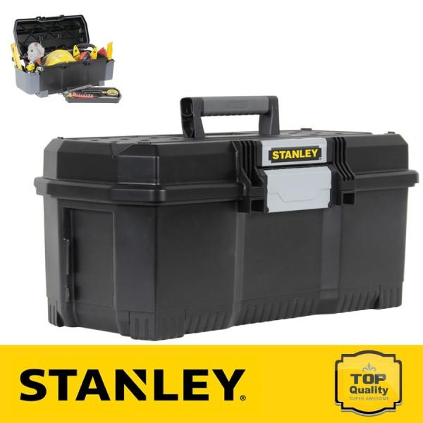 """Stanley 24"""" Szerszámosláda gyorszáró csattal"""
