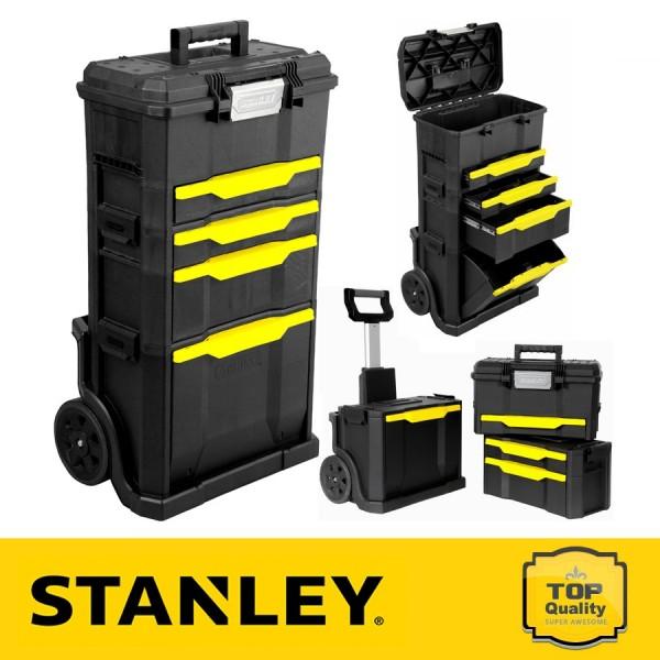 Stanley Szerszámoskocsi fiókos szerszámládával