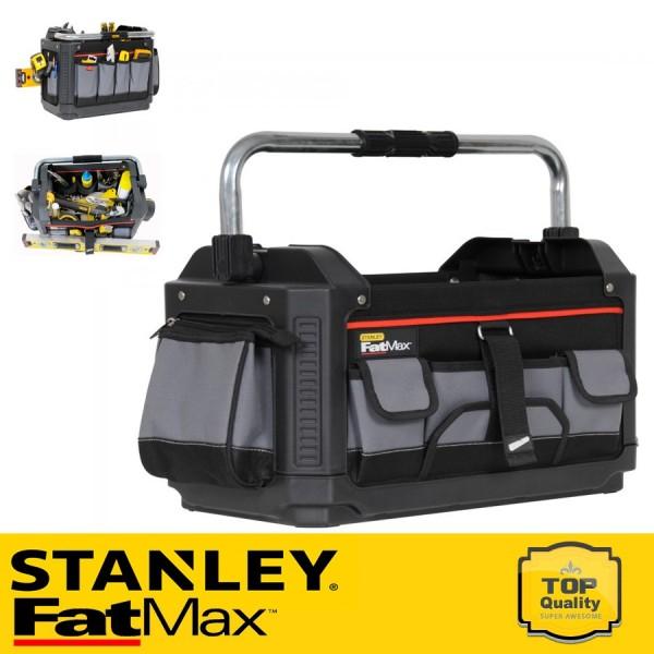 """Stanley FATMAX Műanyag-szövet táska 20"""" nyitott"""