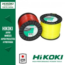 Hikoki (Hitachi) damil négyzetes 3mm  x 132 méter