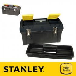 """Stanley 19"""" Fémcsatos szerszámosláda szortimenterrel"""