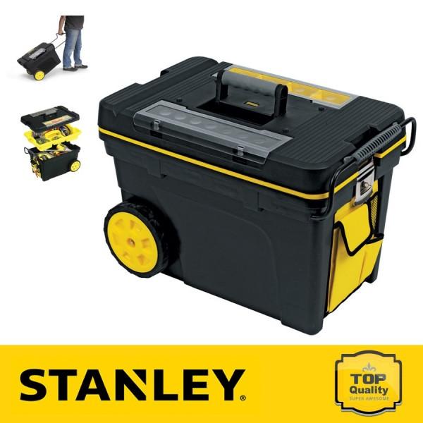Stanley Mobil szerszámkocsi szortimenterrel és kiegészítő zsebekkel