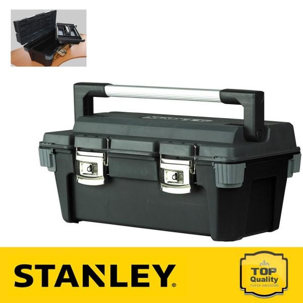 """Stanley Profi fémcsatos 20"""" szerszámosláda"""