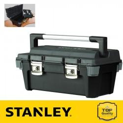 """Stanley Profi fémcsatos 26"""" szerszámosláda"""