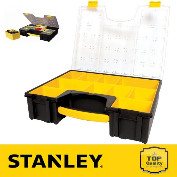 Stanley Profi szortimenter, kivehető dobozos, mély