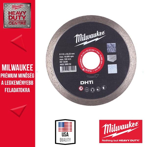 Milwaukee DHTi 115 Gyémánt vágótárcsa