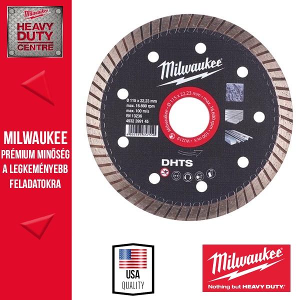 Milwaukee DHTS 115 Gyémánt vágótárcsa
