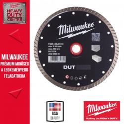 Milwaukee DUT 180 Gyémánt vágótárcsa