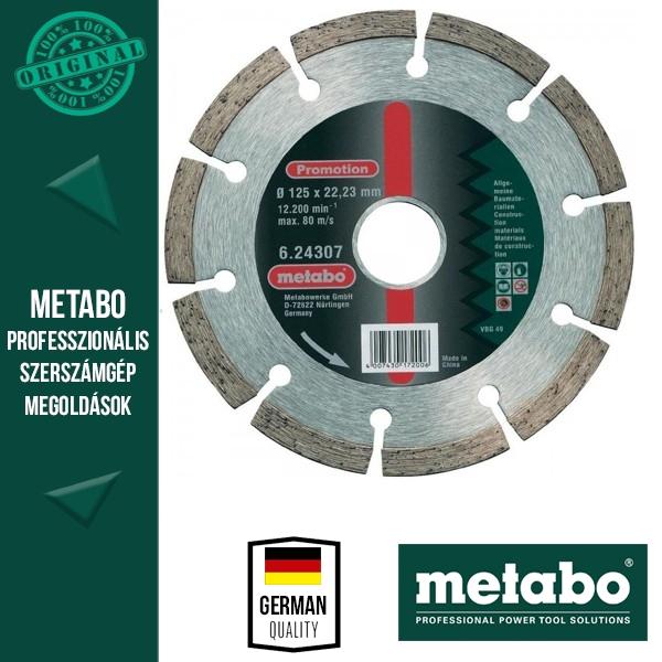 Metabo gyémánttárcsa 125mm x 2db