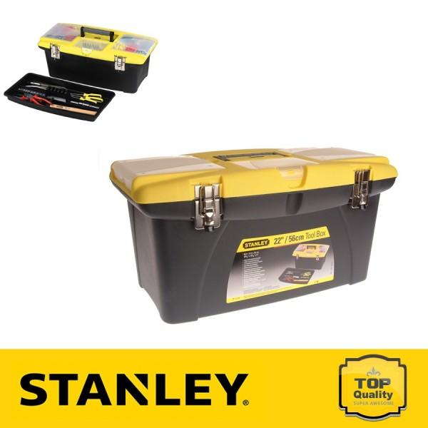 """Stanley 22"""" Jumbo fémcsatos szerszámosláda"""