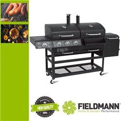 FZG 3001  3 az 1 ben gázos és faszenes grillsütő  és füstölő