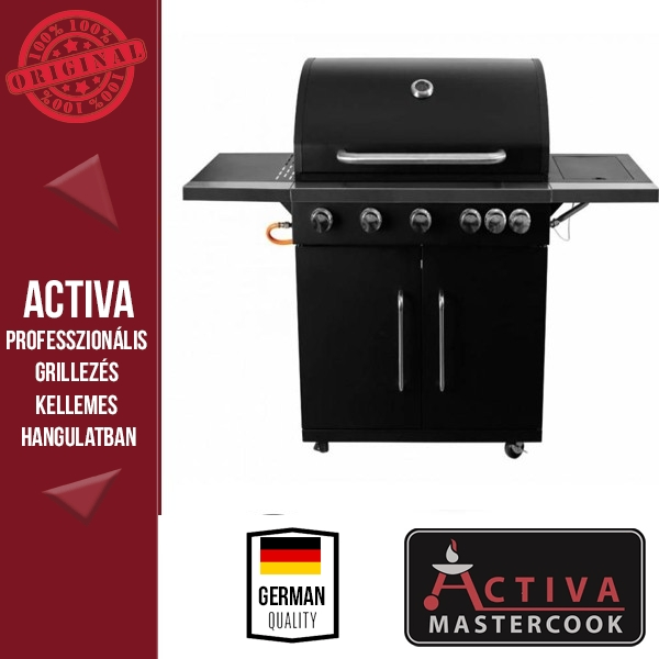 ACTIVA LORD 501 GRILL - GÁZOS