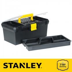 """Stanley 16"""" Szerszámosláda beépített szortimenterrel"""