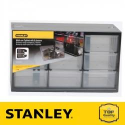 Stanley 9 fiókos csavartartó doboz