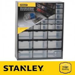 Stanley 39 fiókos csavartartó doboz