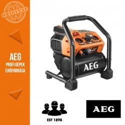 AEG BK18-38BL-0 18 V KOMPRESSZOR ALAPGÉP (8.3 BAR, 3.8 L-ES TARTÁLY)