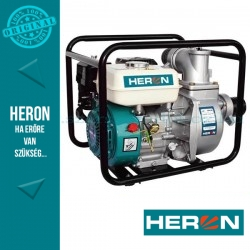 HERON benzinmotoros vízszivattyú, 6,5 LE (EPH-80)