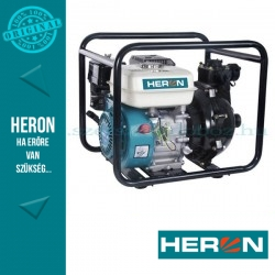 """HERON benzinmotoros nyomószivattyú, 6,5 LE (EPPH 15-10), 1,5"""""""