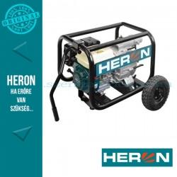 HERON benzinmotoros zagyszivattyú, 6,5 LE (EMPH 80W), 3