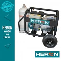 HERON benzin-gázmotoros zagyszivattyú (EMPH 80 WG) 6,5 LE 3