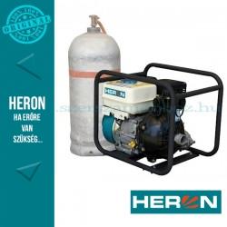 HERON benzin-gázmotoros nyomószivattyú 6,5 LE (EPPH 15-10G) 1,5
