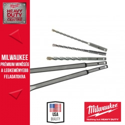 Milwaukee SDS-plus MS2 2 élű fúró/véső készlet 5 db