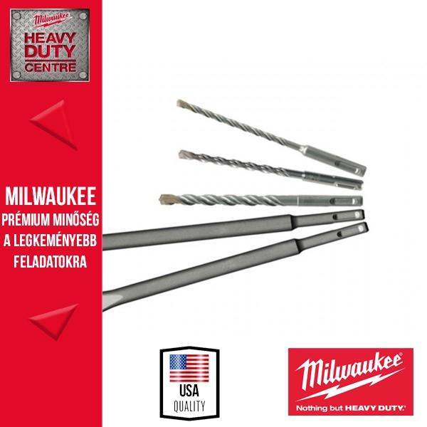 Milwaukee SDS-plus MS2 2 élű fúró/véső készlet 5 db