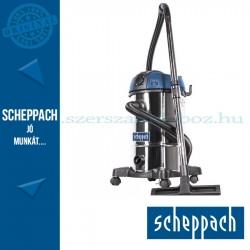 Scheppach ASP 30 PLUS - Száraz/nedves porszívó mechanikus szűrő lerázással, 30 literes
