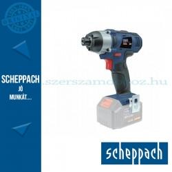 "Scheppach CID180-20Li - Akkus 1/4""-os ütvecsavarozó 20 V alapgép"