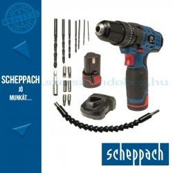 Scheppach CID27-12Li - Akkus 2-sebességes fúró-ütvefúró 12 V