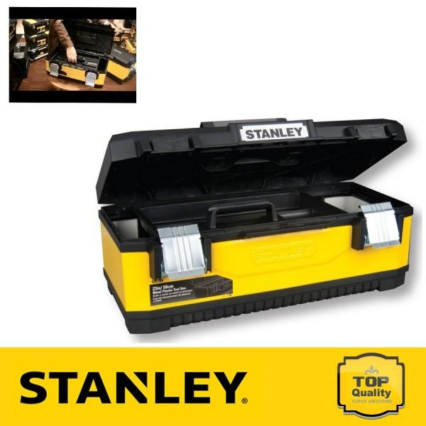 """Stanley 23"""" Fém-műanyag szerszámos láda"""
