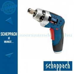 Scheppach CSD4-4Li - Akkus fúrócsavarozó 4 V